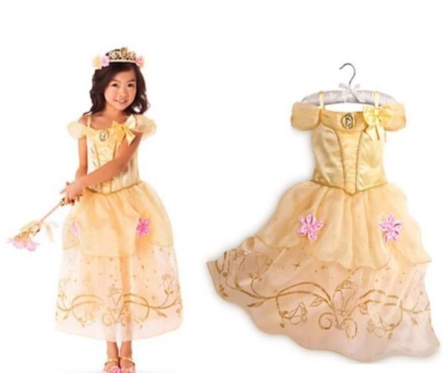 プリンセスドレス イエロー