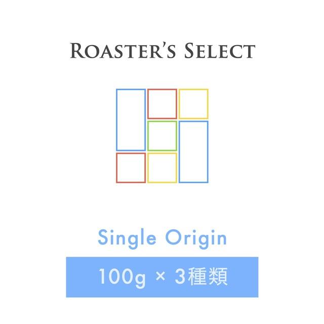 送料無料のお得なセット/焙煎士お任せ/シングルオリジン/アソートセット/300g