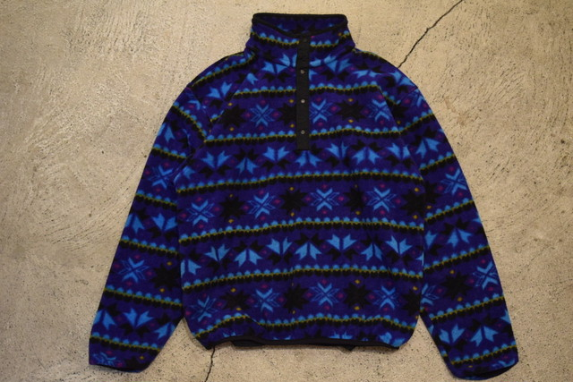 USED 80s L.L.Bean Polarlite pullover -Women Small