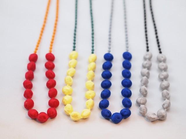 【ciito】線と丸ネックレス