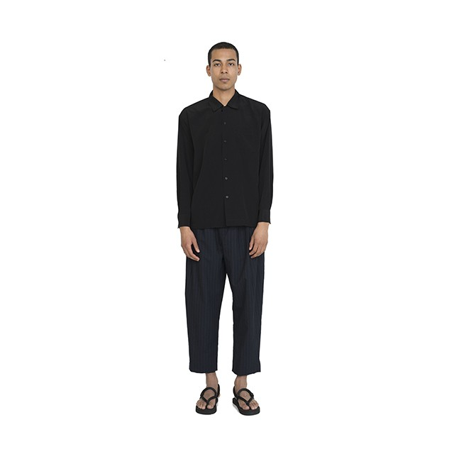 ベスト パック レーヨン ロング スリーブ シャツ Rayon L/S Shirt Black BP18S-SH01-BLK ベスト パック レーヨン ショート スリーブ シャツ Rayon S/S Shirt Black BP18S-SH01-BLK Best Pack
