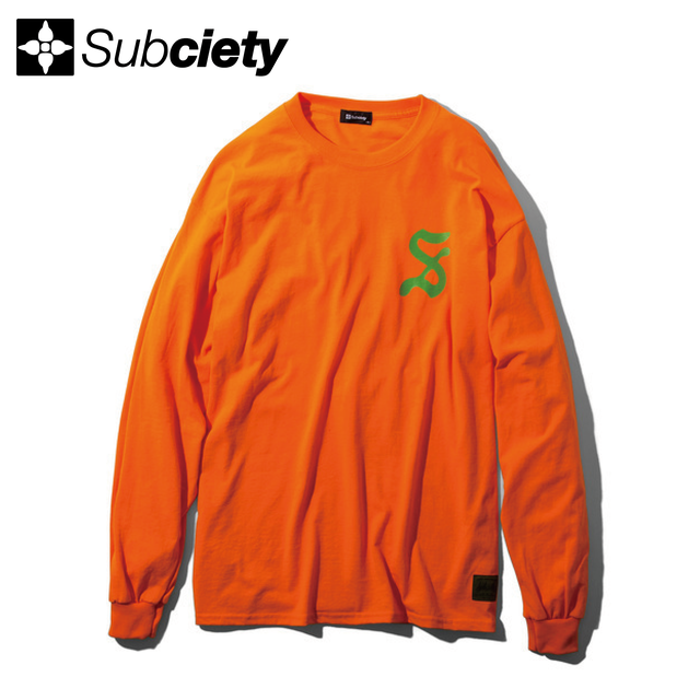 Subciety(サブサエティ) |  pilgrim L/S (Orange)