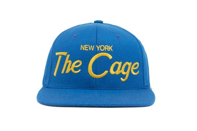 "HOOD®︎ ""The Cage"" CAP BLUE × YELLOW"