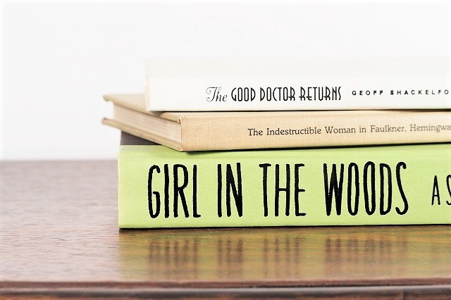 GIRL IN THE WOODS -3set- /display book