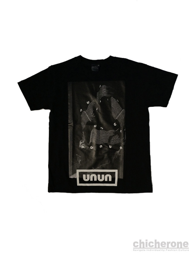 【UAUA】LB LOOK TEE  BLACK