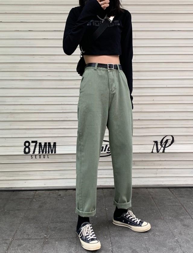 予約注文商品 ウディーパンツ パンツ カーゴ  韓国ファッション