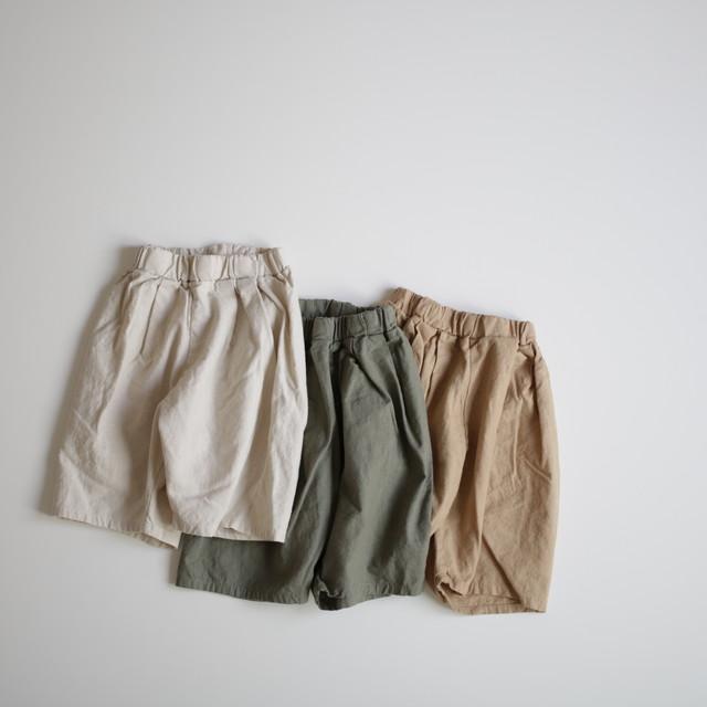 below the knee pants. 〔 ひざ下パンツ 〕