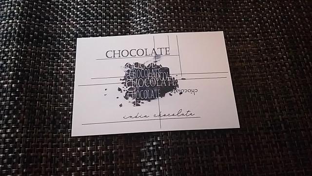 india chocolate  オリジナル ポストカード