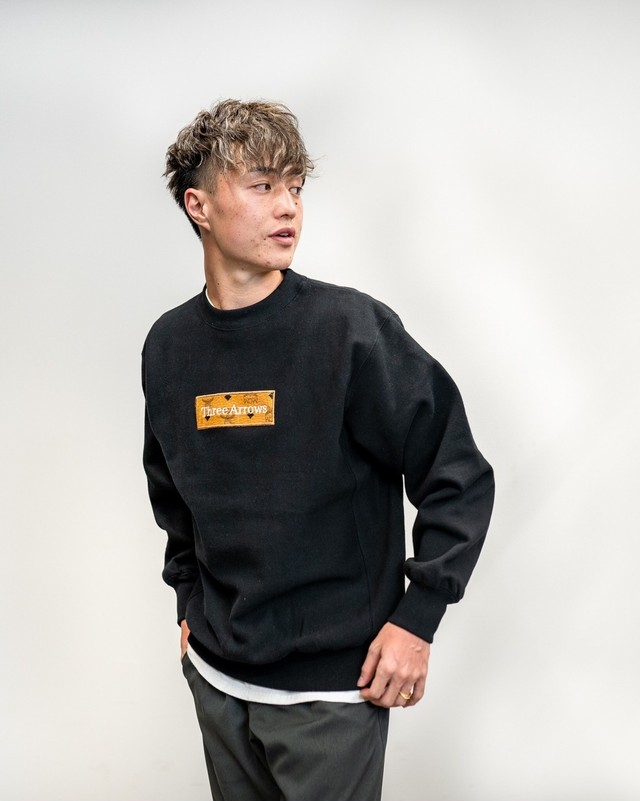 【Expensive】《WEB限定販売》ThreeArrows BOX LOGO Sweat (MCM)