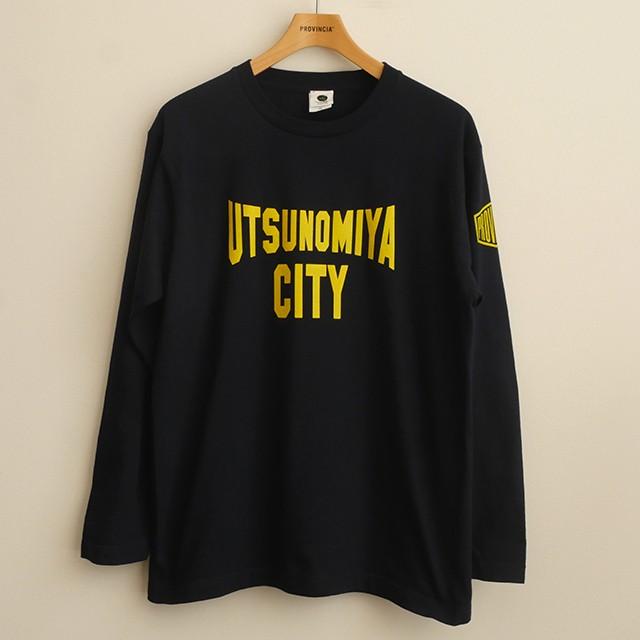 ロングスリーブTシャツ UTSU(2)NOMIYA CITY ネイビー