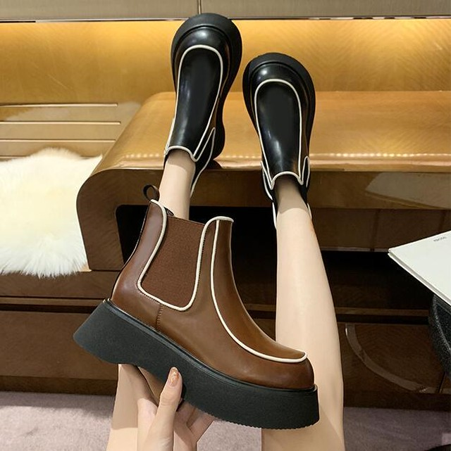 疲れ知らず ブーツ ショートブーツ シューズ 2カラー SHS530401