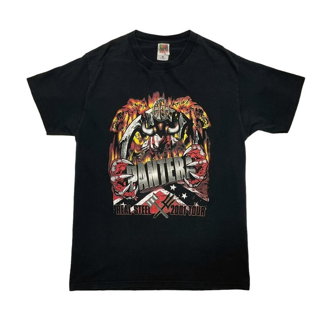 PANTERA REAL STEEL TOUR 2001 FRUIT OF THE LOOM LARGE 0982