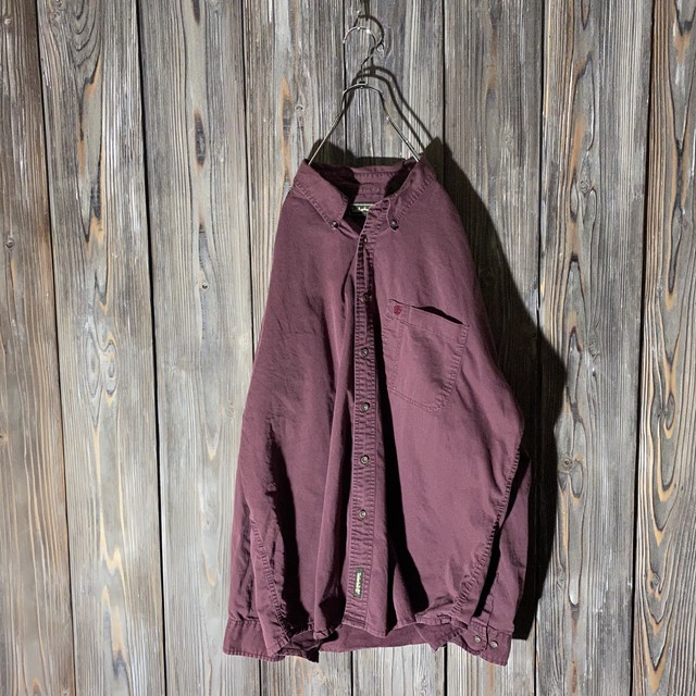 [Timberland]Bordeaux one point  shirt