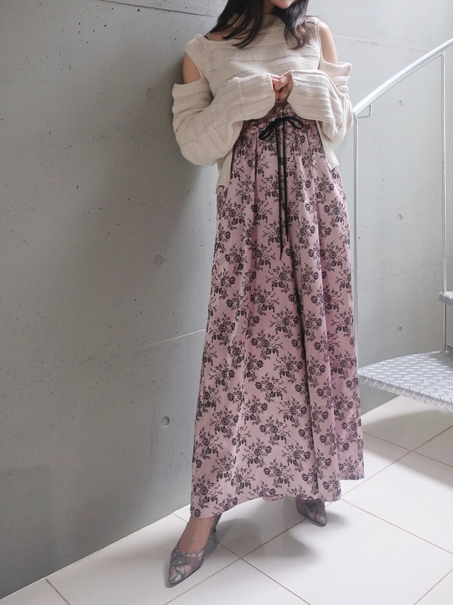 《追加・予約商品》Oriental Rose Pants (pink)