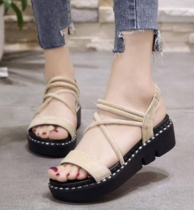 【shoes】歩きやすいカジュアル合わせやすいシューズサンダル