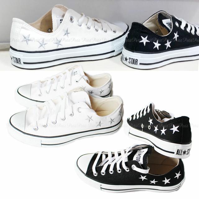 Converse コンバース ALL STAR SE OX オールスター SE オックス かかとに星刺繍 32169431