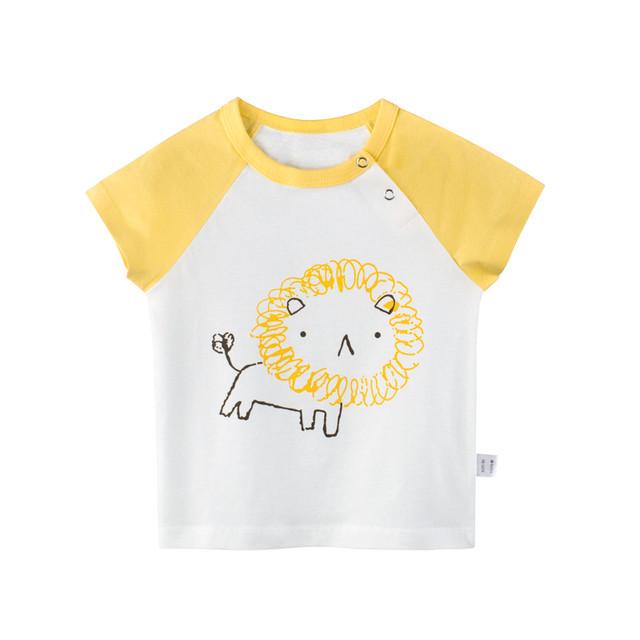 【トップス】絶対欲しい夏新作韓国風可愛いコットンカートゥーンキッズ子供服男の子トップスTシャツ24838089