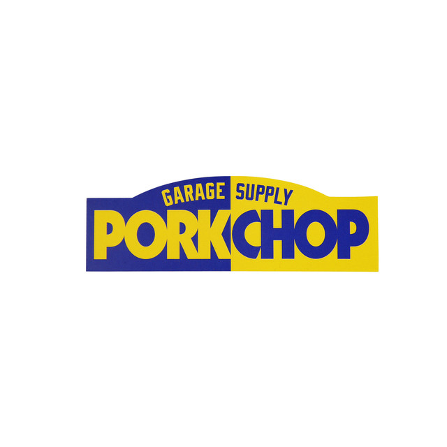 PORKCHOP BLOCK STICKER