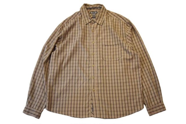 USED REI L/S shirt L 00s