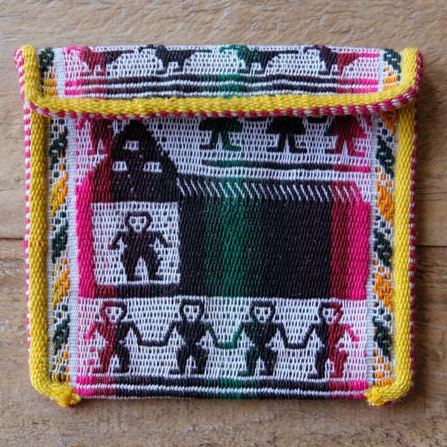 タラブコ織りのミニケース /pb8b/ BOLIVIA ボリビア