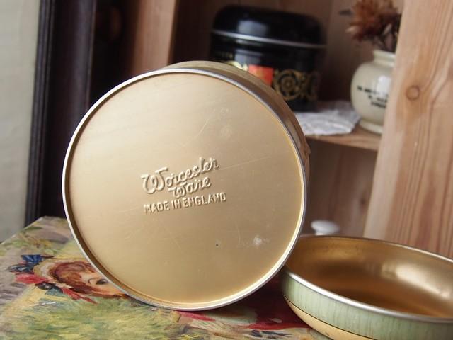 イギリスアンティーク SWEET TIN お菓子缶