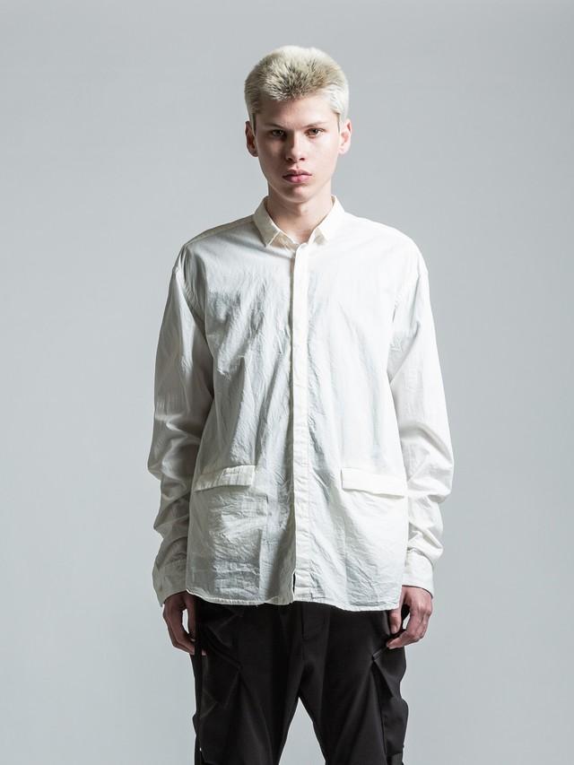 VI-3043-02 / フラップポケット付き 長袖シャツ
