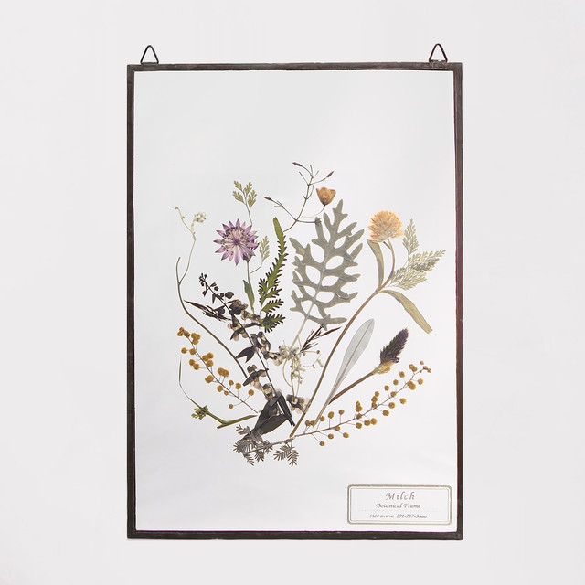 Botanical Frame L021 - Black