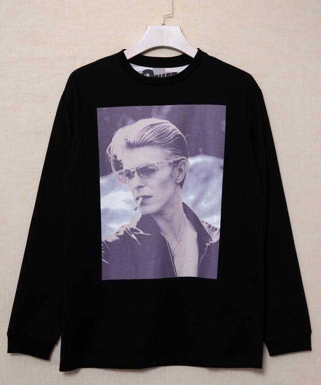 DAVID BOWIE1(デヴィット・ボウイ)ロングスリーブTシャツ