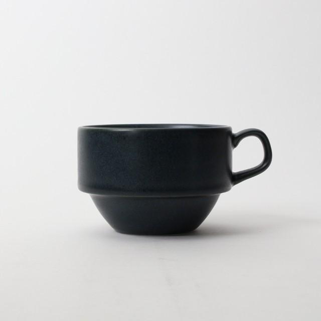 【SL0038】磁器 コーヒーカップ ネイビー