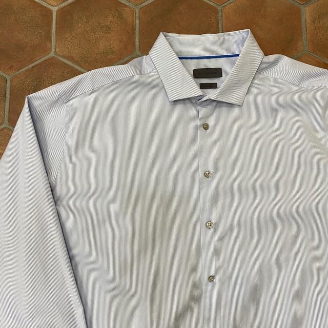 カルバンクライン ストライプシャツ