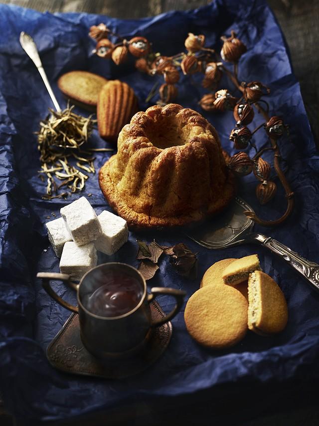 数量限定【Patisserie Ravi,e relier/パティスリー ラヴィルリエ×銀月サロン】焼菓子と中国茶のセット