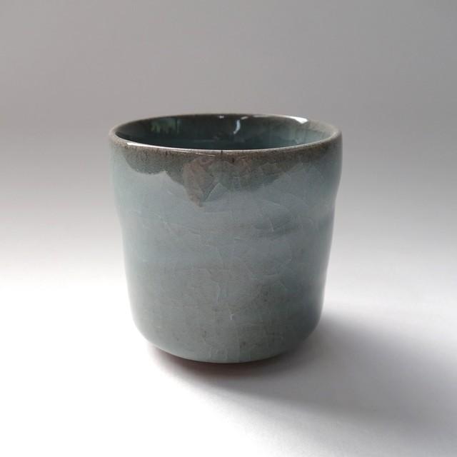 青磁ビアカップ(小)