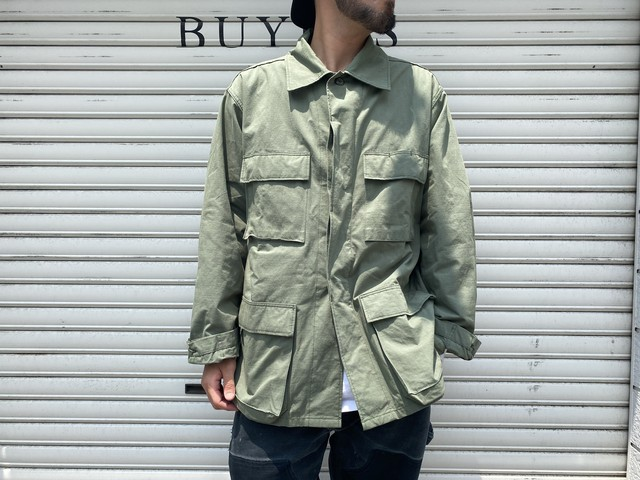 WTAPS 21SS WMILL-LS 01 / LS / NYCO. RIPSTOP OLIVE DRAB LARGE 211WVDT-SHM01 150KF6991