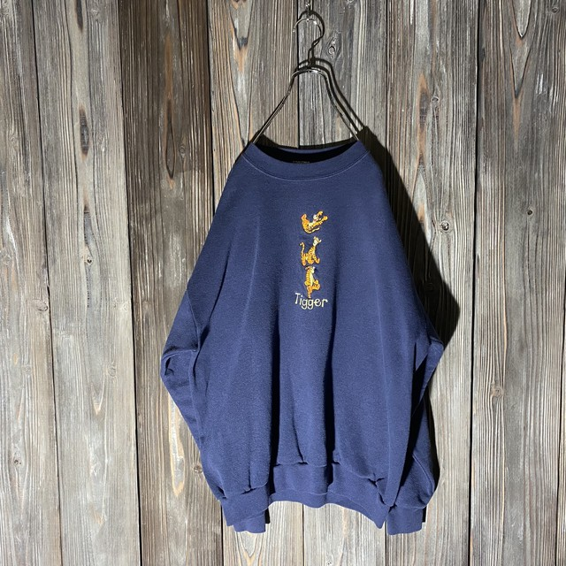 [used]Tigger cute embroidery sweat