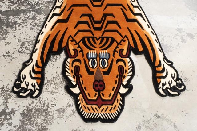 Tibetan Tiger Rug 《Lサイズ•ウール050》チベタンタイガーラグ