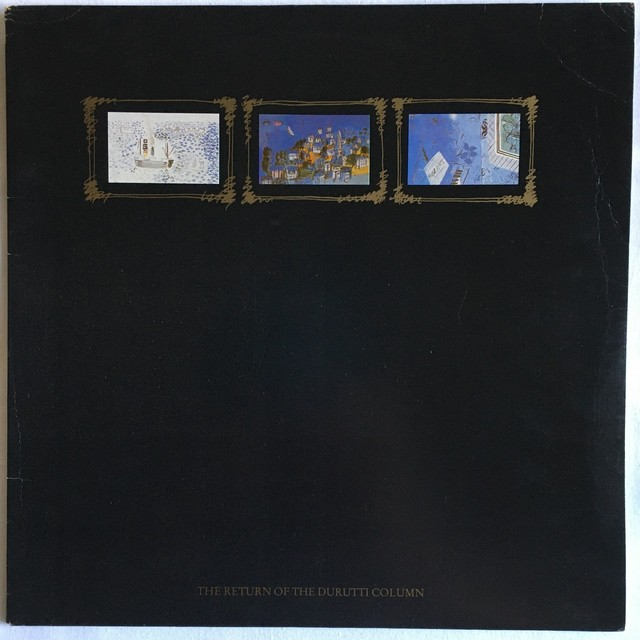 【LP・伊盤】The Durutti Column / THE RETURN OF THE DURUTTI COLUMN