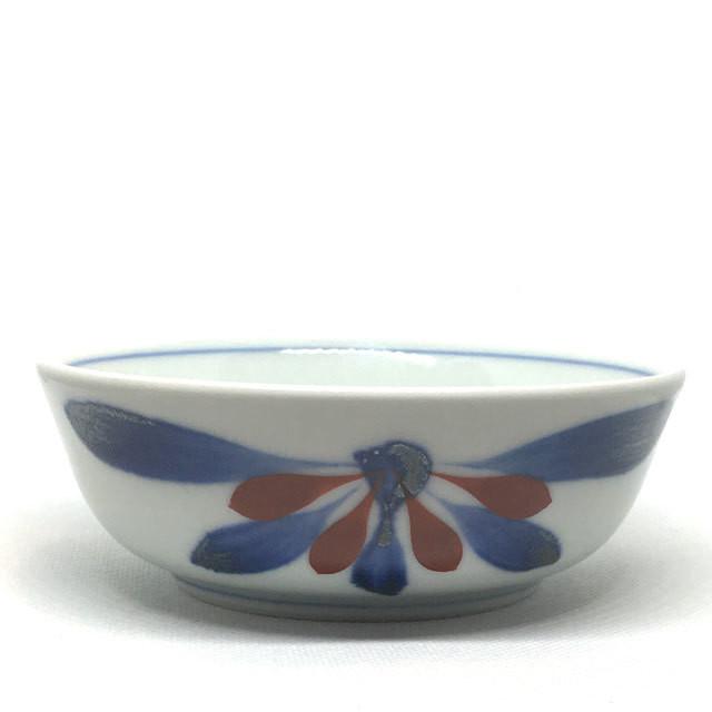 【砥部焼/梅山窯】5寸玉縁鉢(たんぽぽ)