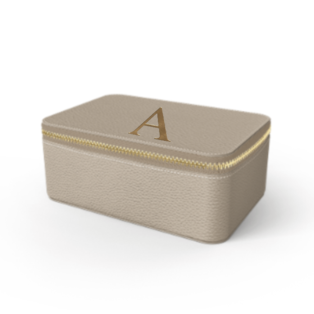 Box Premium Shrink Leather Case (Beige)