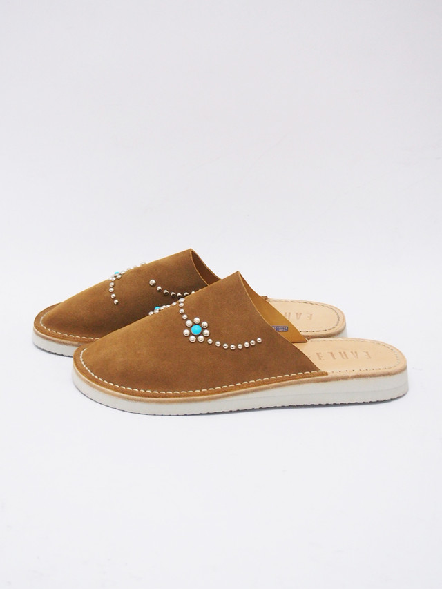 EARLE (アール) In-out slipper / インアウトスリッパー / CAMEL ER1302-2