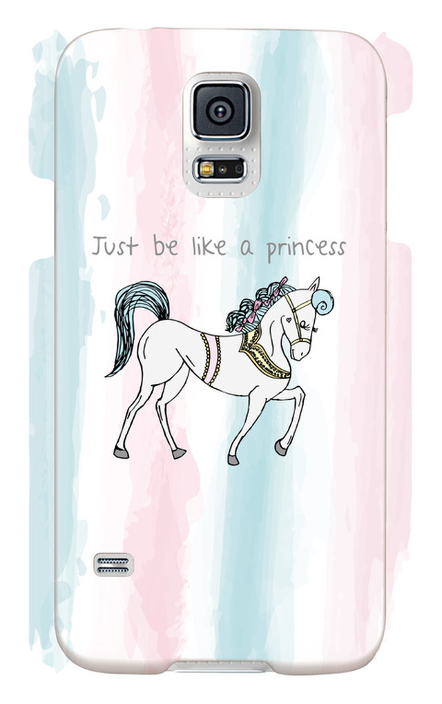 Just be like a princess -Galaxy S5 SC-04F/SCL23-