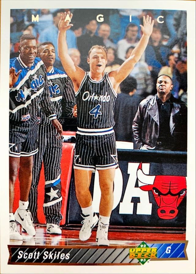 NBAカード 92-93UPPERDECK Scott Skiles #149 MAGIC