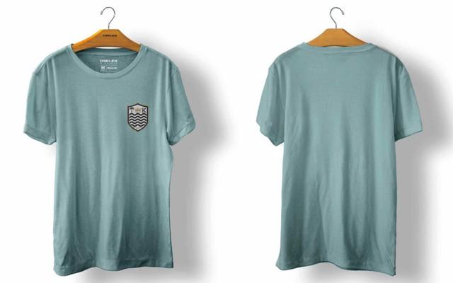 OSKLEN オスクレン Tシャツ STONE BRASAO AZUL M?DIO size import men's S