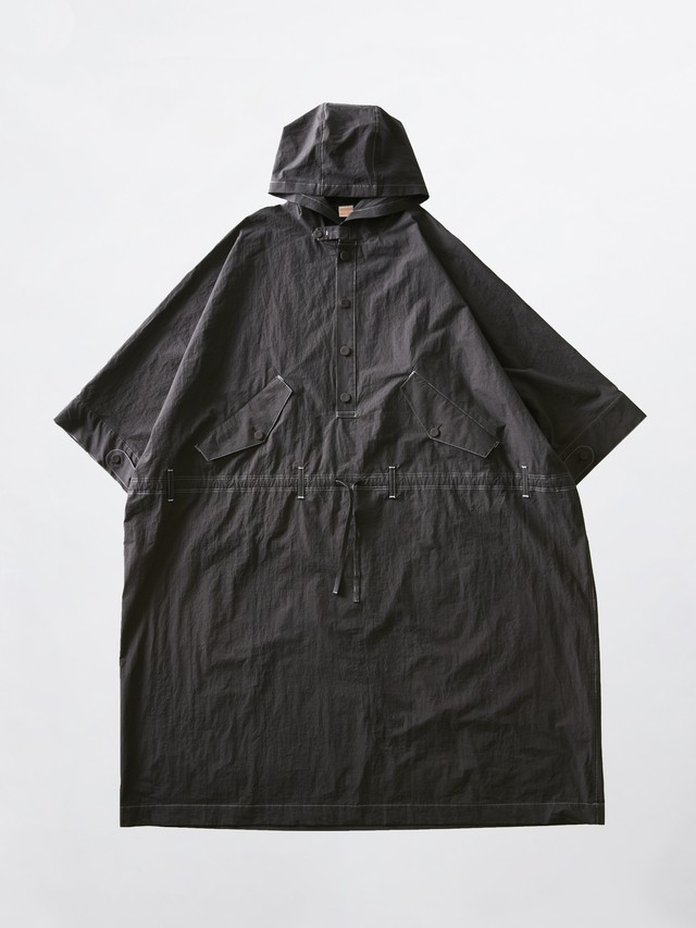 MAISON EUREKA Anorak Coat For BEST PACKING STORE Smoke Black 306