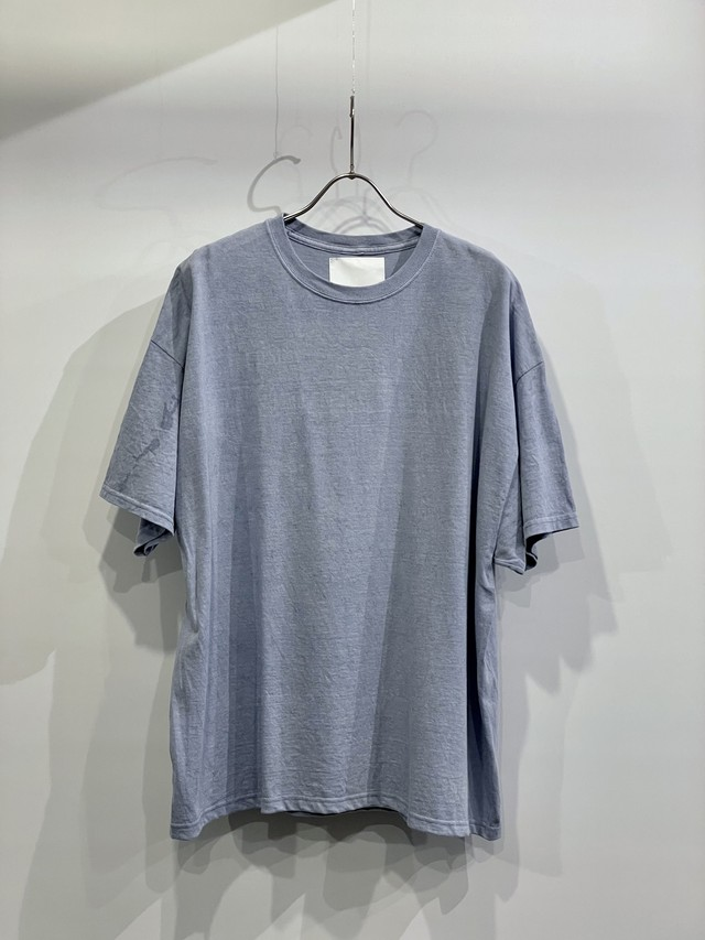 TrAnsference wide fit T-shirt - cloud sky garment dyed