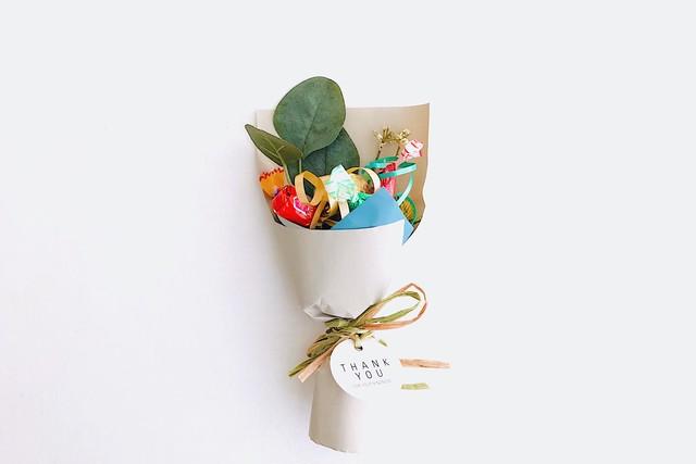 【パターンオーダー】ロシェチョコが入ったプチキャンディブーケ