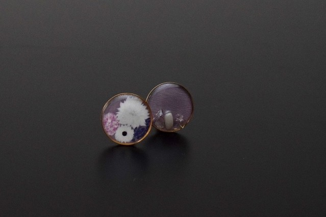 ea16  flowers_pair earring