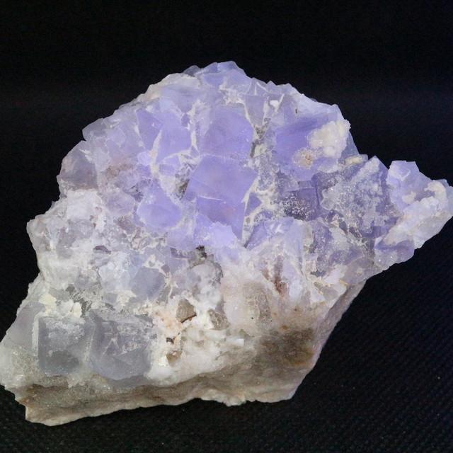 蛍石 フローライト クォーツ コロラド州産 原石 284g FL140 鉱物 天然石 パワーストーン