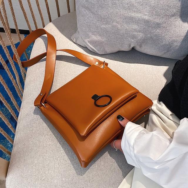 【バッグ】マグネット斜め掛けファッション大容量バッグ25410530