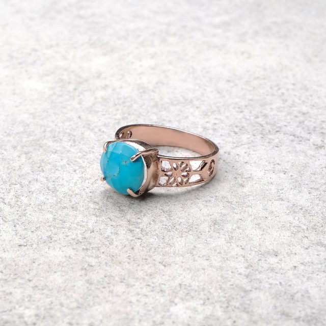 SINGLE STONE NON-ADJUSTABLE RING 043