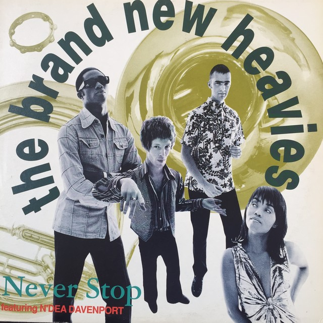 The Brand New Heavies ‎– Never Stop